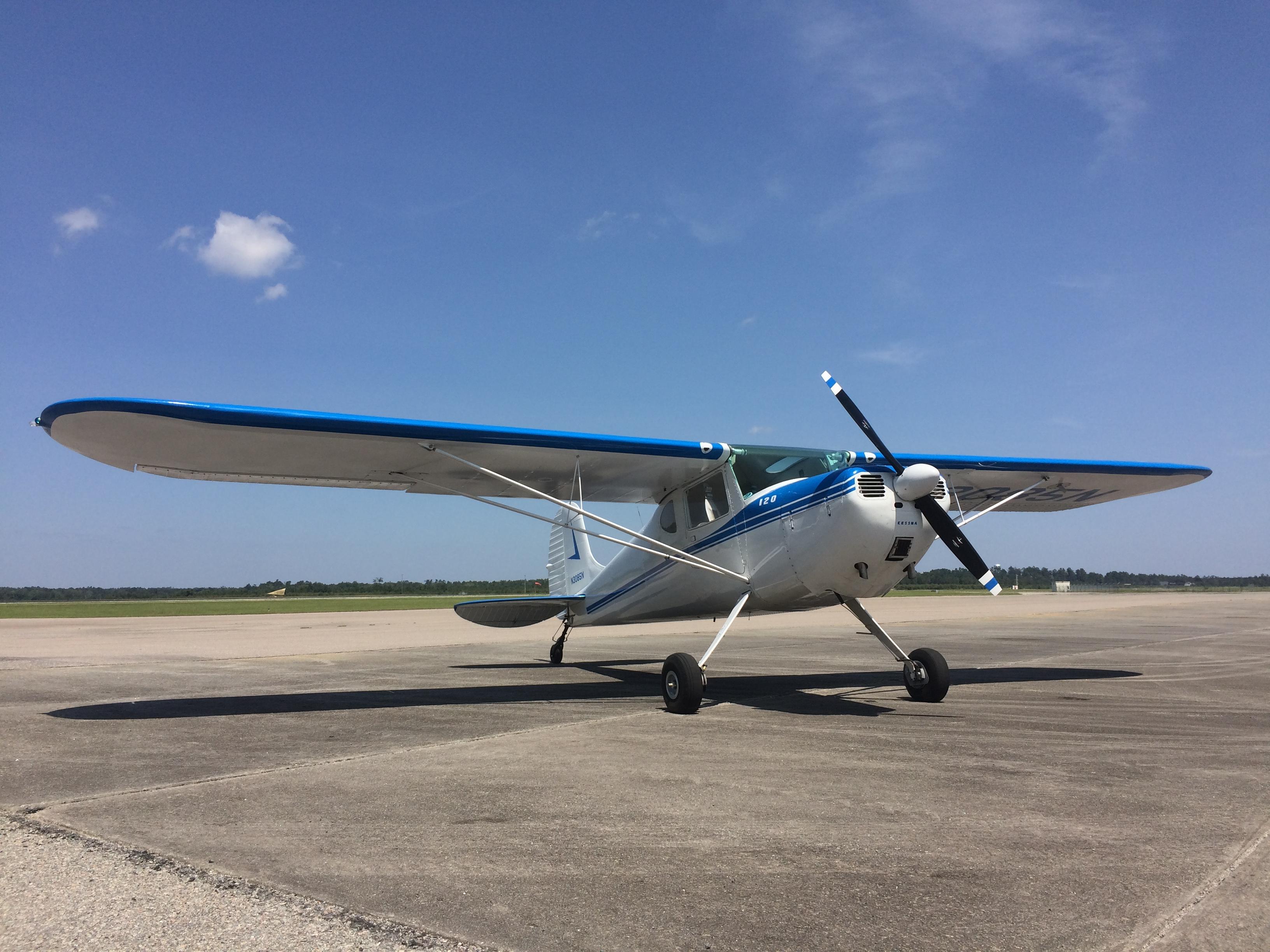 Cessna 120 Tailwheel ACE Basin Aviation