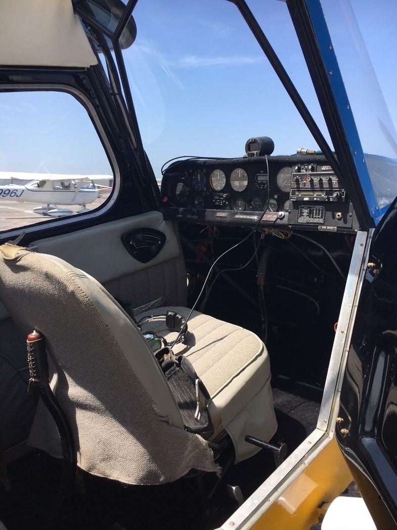 Citabria 7KCAB - Cockpit