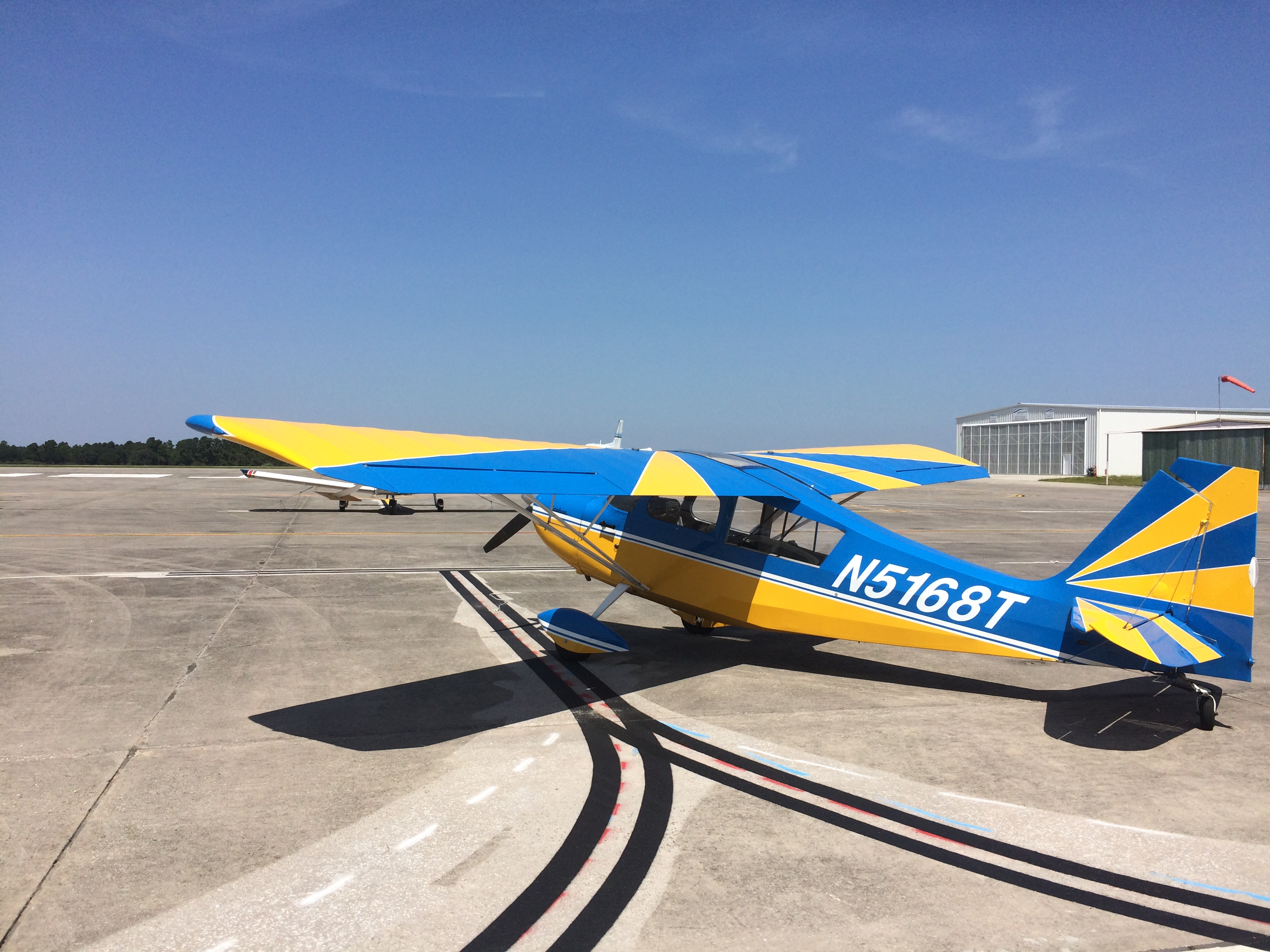 Jason's Citabria 7KCAB ACE Basin Aviation