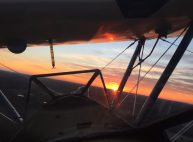 Sunset Air Tour in the Stearman