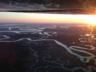 Sunset Air Tour in the Cessna 195