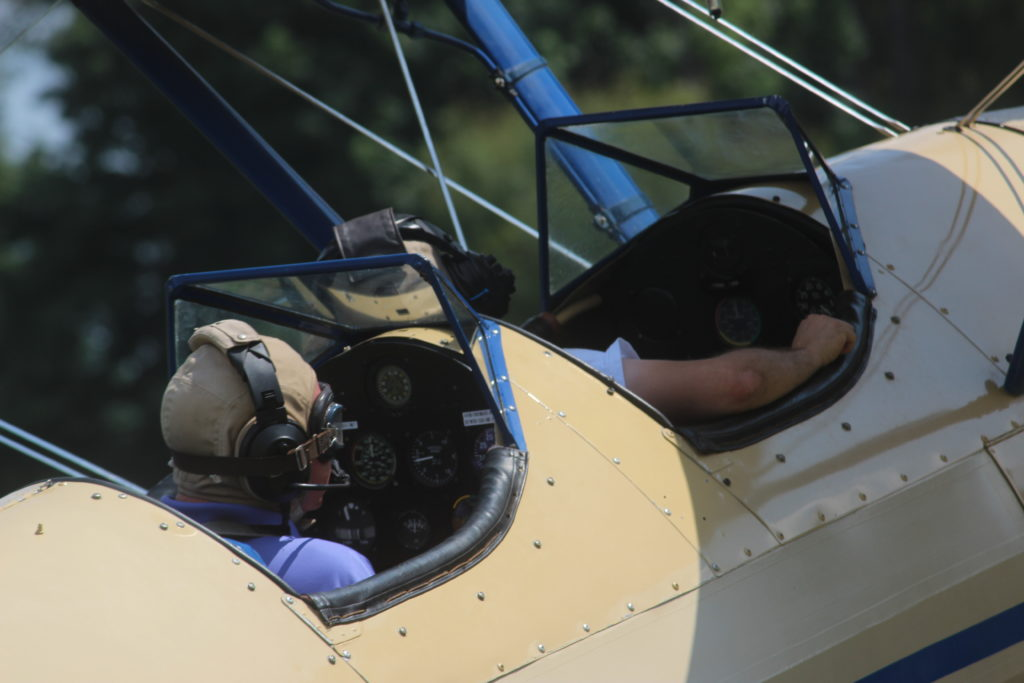 Flying lessons Stearman ACE Basin Aviation South Carolina flight school