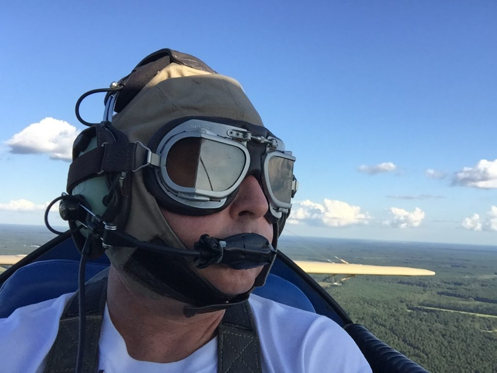 Tailwheel flight instructor Todd Givens - Ace Basin Aviation South Carolina Tailwheel Flight School