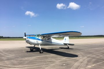 Cessna 120 Tailwheel ACE Basin Aviation